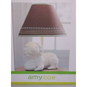 Amy Coe Zoology Baby Nursery Lamp