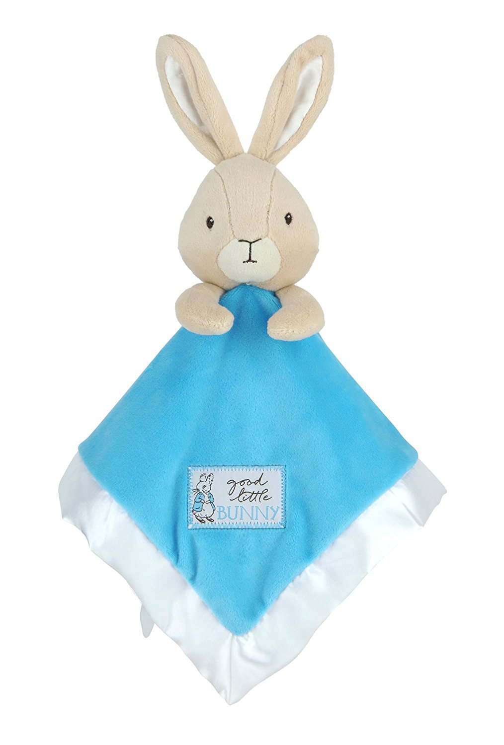 Kids Preferred Beatrix Potter Peter Rabbit Security Blanket Plush Lovey, Lovie