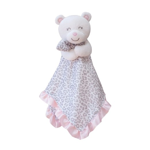 Carter's Baby Girls Plush Bear Security Blanket, Lovey, Lovie