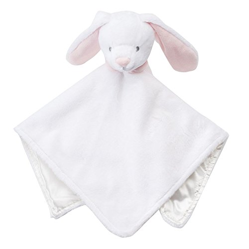 Carter's Baby Girl Boy White Bunny Rabbit Security Blanket Lovey