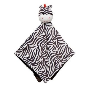 Carter's Baby Boy Girls Zebra Security Blanket Lovey