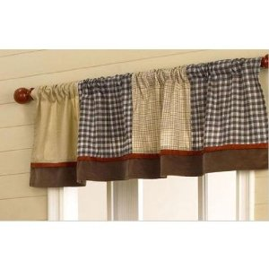 CoCaLo Baby Buttons Window Curtains Valance