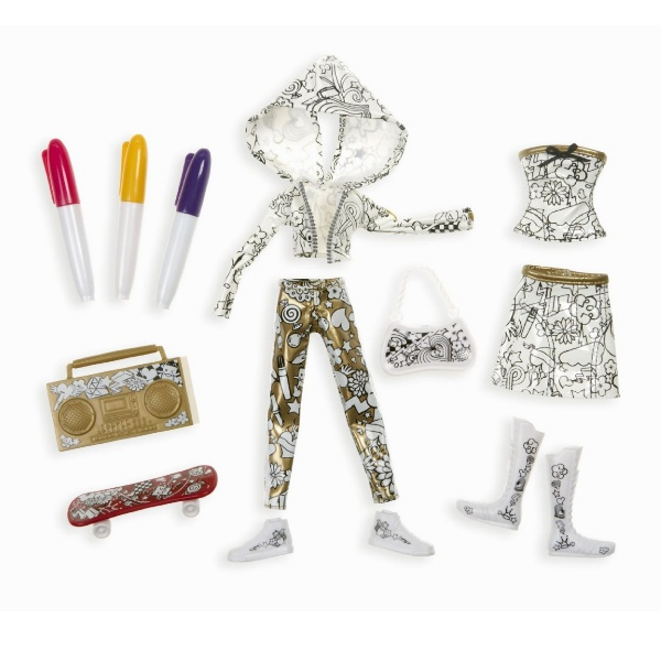Moxie Girlz Art-titude Fashion Design Doll Clothing