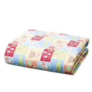 Tiddliwinks ABC 123 Fitted Crib Sheet - Squares