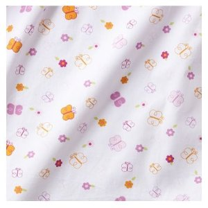 Tiddliwinks Sweet Safari Fitted Baby Crib Sheet