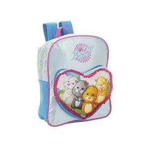 Zhu Zhu Pets Crew Backpack School Bag Blue