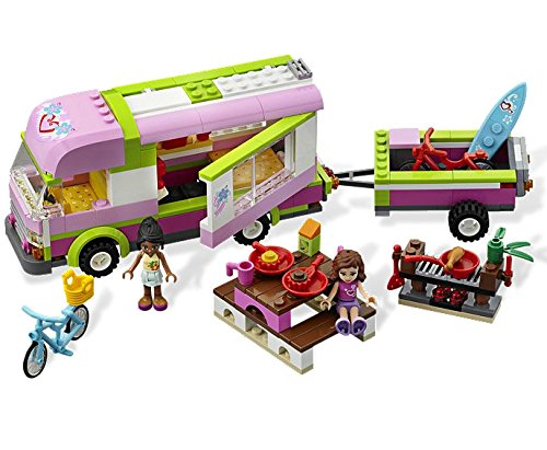 LEGO Friends Adventure Camper (3184)-kids toys girls toys girls building toys legos friends logos gifts