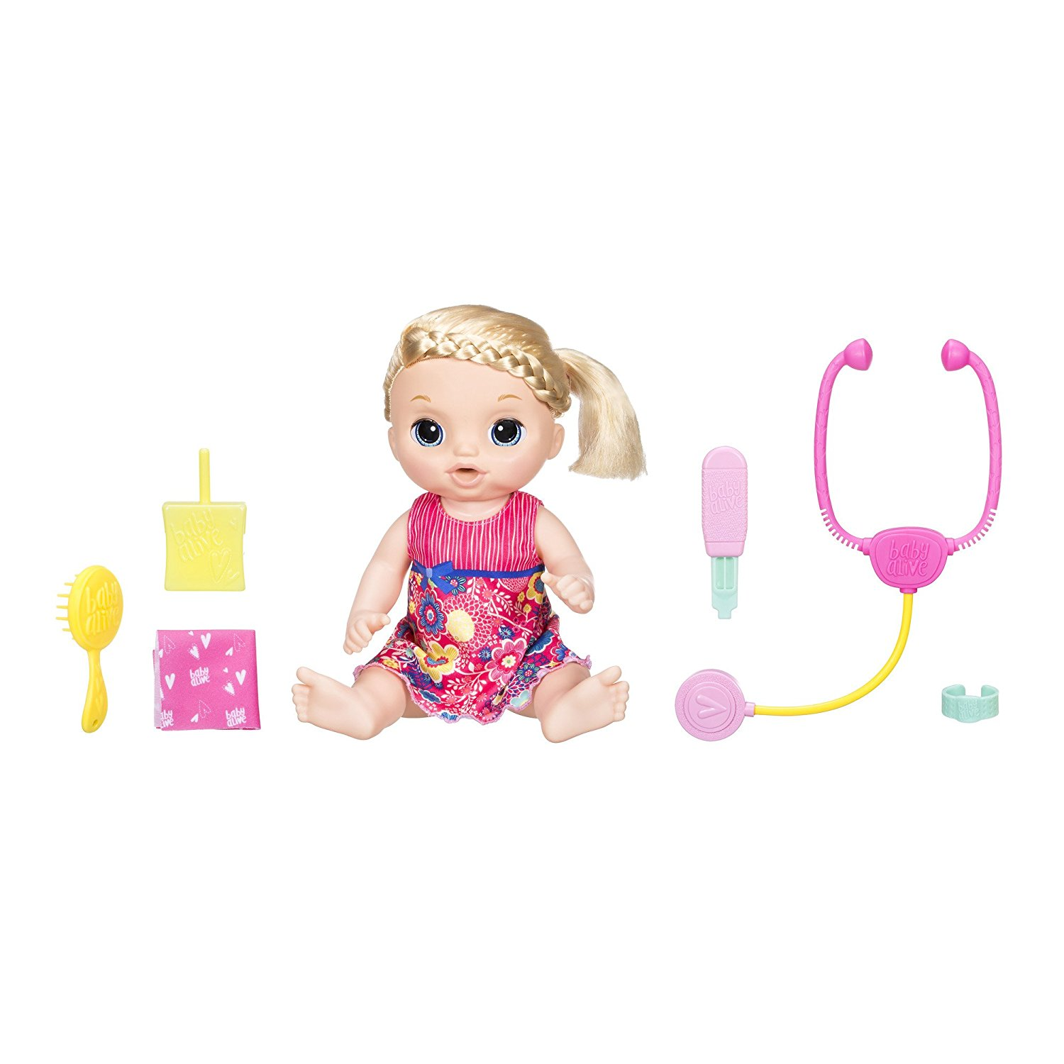 Baby Alive Sweet Tears Baby Doll (Blonde)-girl toys, kids otys, girls dolls, boy dolls, baby alive dolls, gifts for girls
