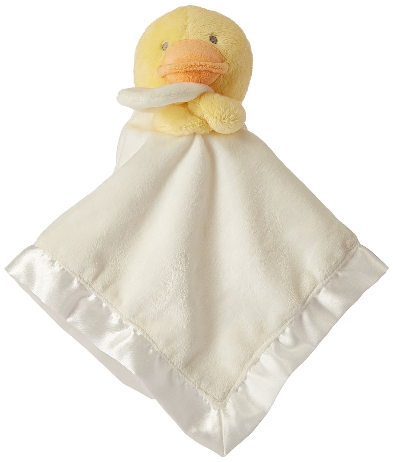 Carter's Baby Boy Girls Yellow Duck Security Blanket, Lovey, Nunu-baby shower gifts baby blankets security blankets discontinued baby security blankets carters blankets
