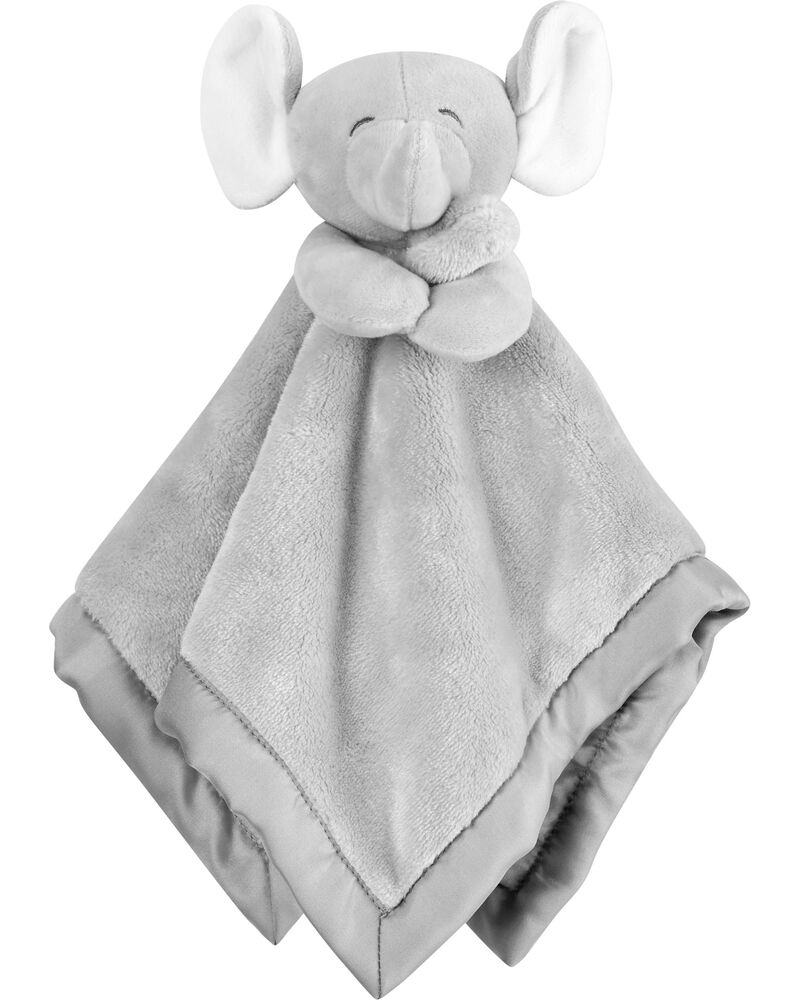 Carter's Baby Infant Boy Girl Grey Plush Elephant Security Blanket Lovey-baby shower gifts, plush toys, plush elephant, baby toys, lovey, lovie, loveys, lovies, baby toys