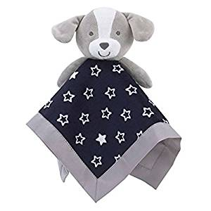 Carter's Child of Mine Baby Boys Blue Stars Puppy Security Blanket Lovey-baby blankets, baby shower gifts, lovies, loveys, lovey, nunu
