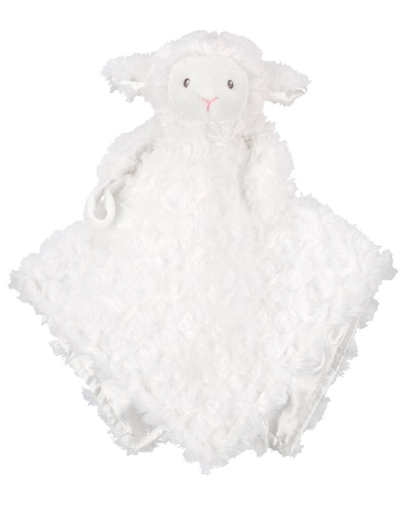 Carter's Baby Infant Boys Girls White Plush Lamb Security Blanket Lovey-baby shower gifts, plush toys, plush lamb, baby toys, lovey, lovie, lovies, loveys