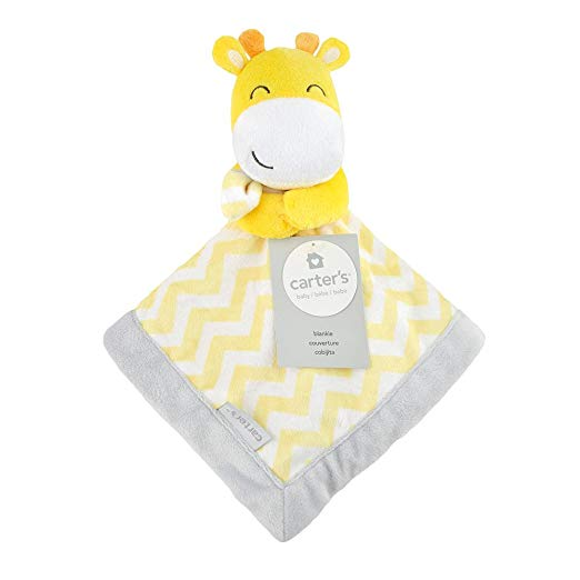 Carter's Baby Infant Yellow Giraffe Security Blanket Lovey-baby shower gift, lovies, lovey, lovie, nunu, baby blankets