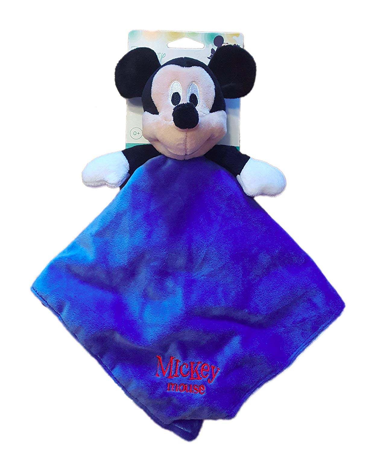 Disney Baby Infant Blue Unisex Mickey Mouse Security Blanket Lovey-baby shower gift, baby blanket, lovey, lovie, lovies, baby blankets