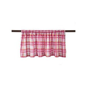 Kenneth Brown Sweet Stitches Window Valance Curtain-nursery accessory, baby room, valance, kenneth brown, curtain