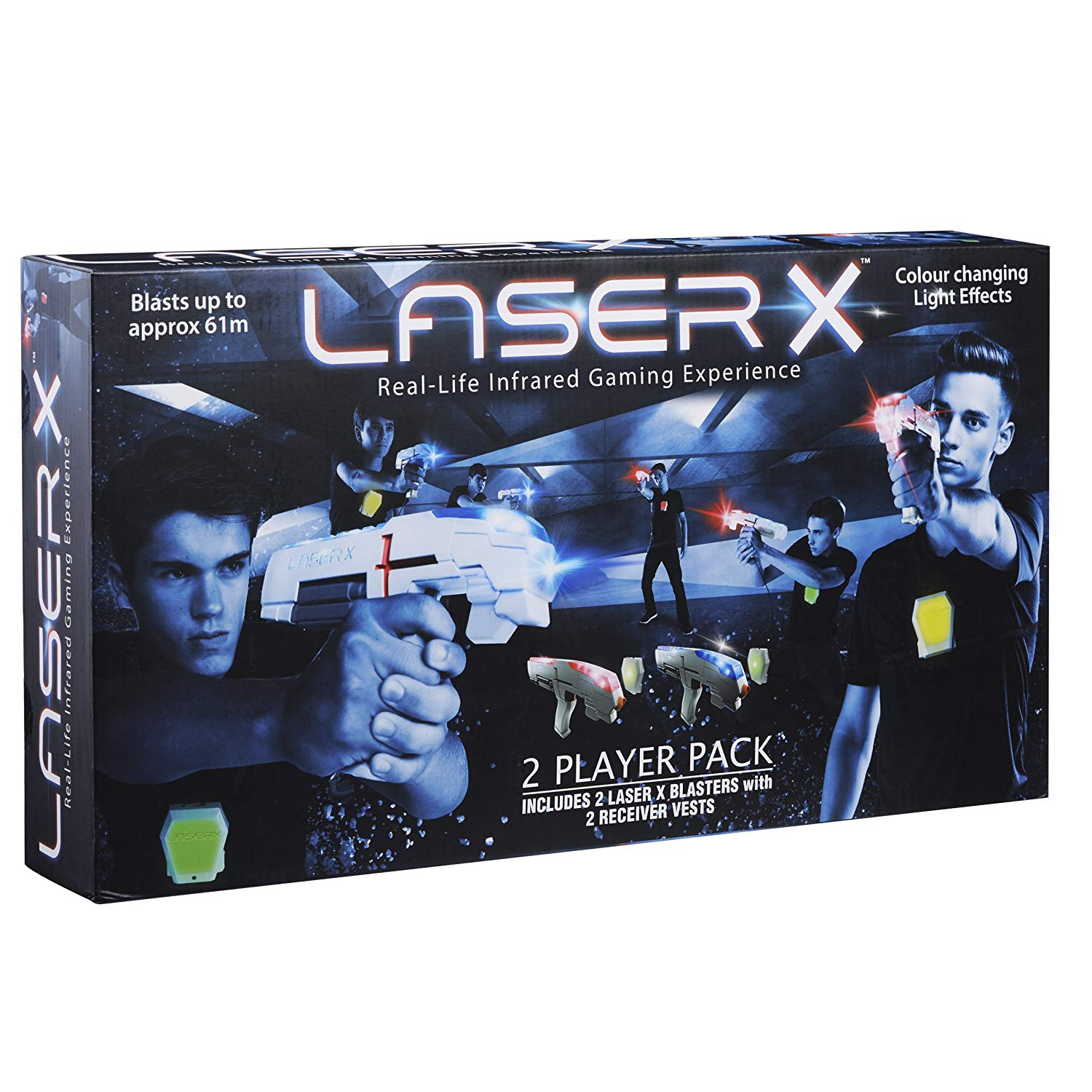 Laser X 88016 Two Player Laser Gaming Set-kids toys, outdoor toys, laser tag toys, boy toys, girls toys, kids gifts