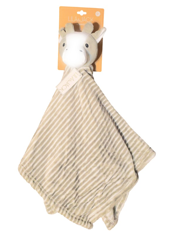 Lila & Jack Baby Boy Girls Plush Cow Grey Striped Security Blanket Lovey-baby shower gifts, baby toys, lovies, loveys, lovie, lovey, security blanket, nunu, cudddle, stuffed animals, stuffed cow, striped blanket, baby gifts, baby blankets