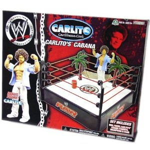 WWE Wrestling MVP Carlitos Lounge Ring